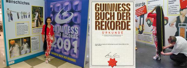 Guinnes Buch der Rekorde 2001
